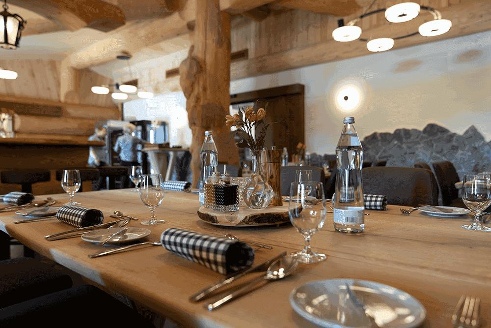 RestaurantBlockhausInnenbereich2WeihnachtsfeierinTirol