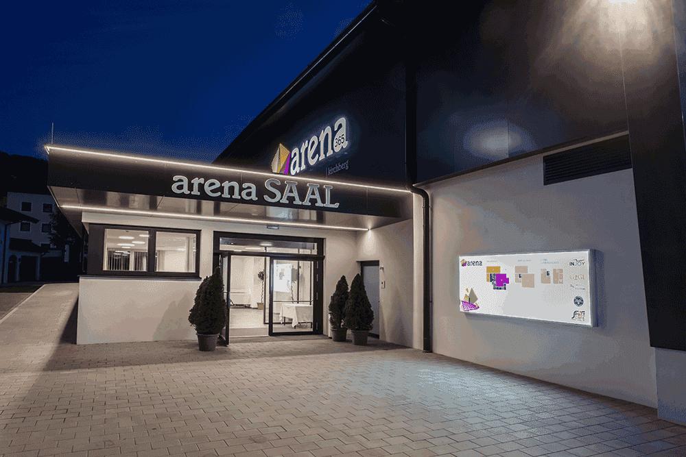arena365SaalEingangHochzeiteninTirol