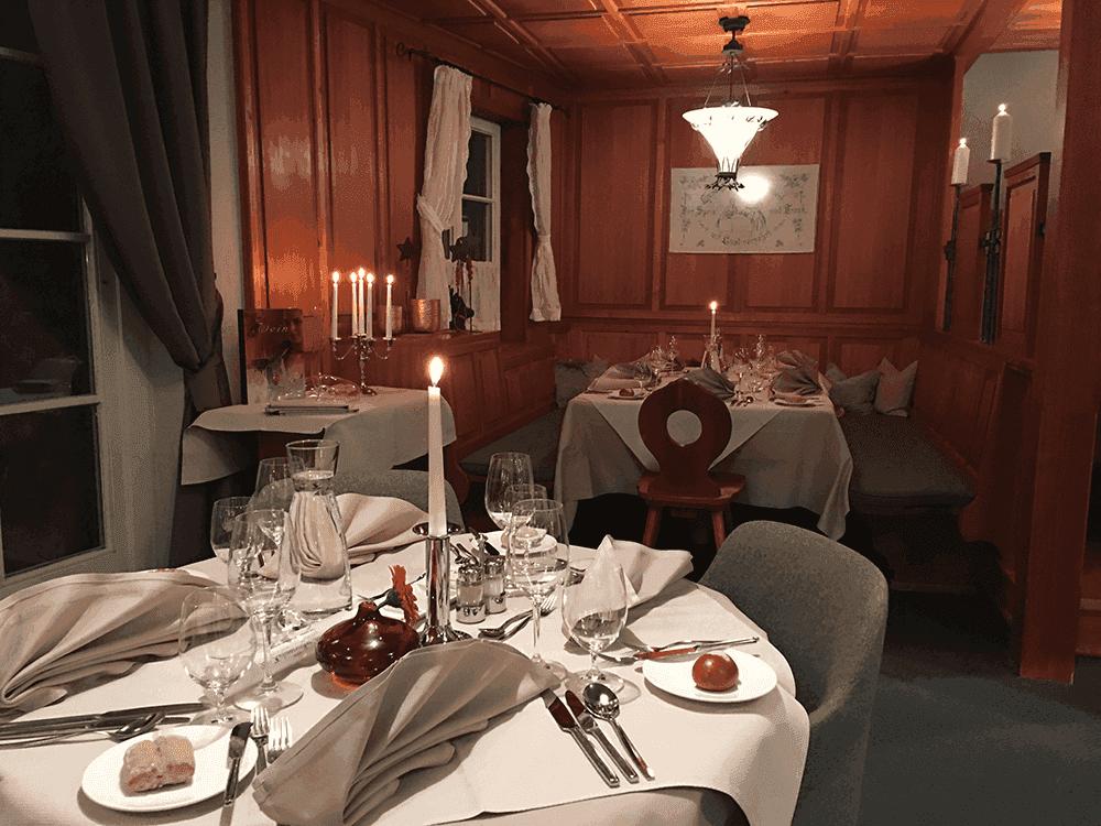 HotelInnsbruckRestaurantWirtshausWeihnachtsfeierinTirol