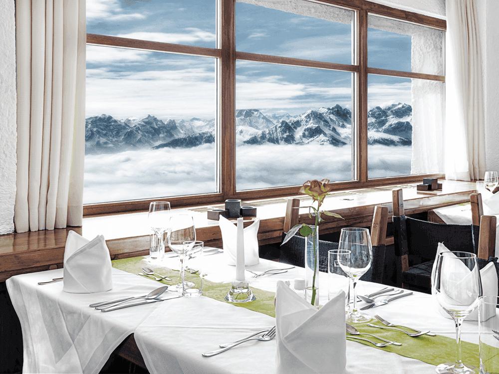 InnsbruckerNordkettenbahnenRestaurantSeegrubeWeihnachtsfeierinTirol