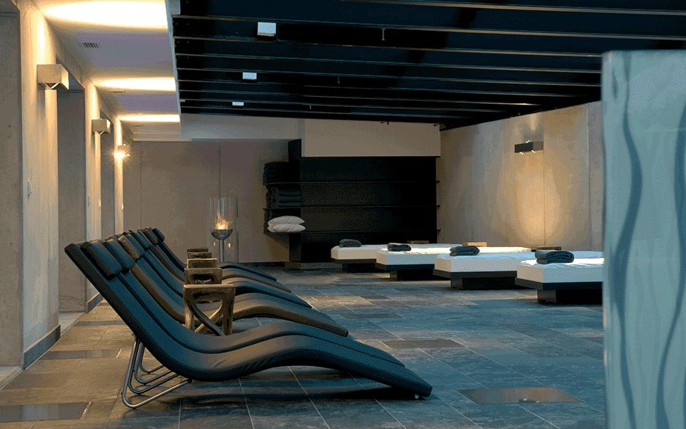 Entspannen im Wellness-Bereich des Alpenhotel ... fall in Love © Alpenhotel ... fall in Love