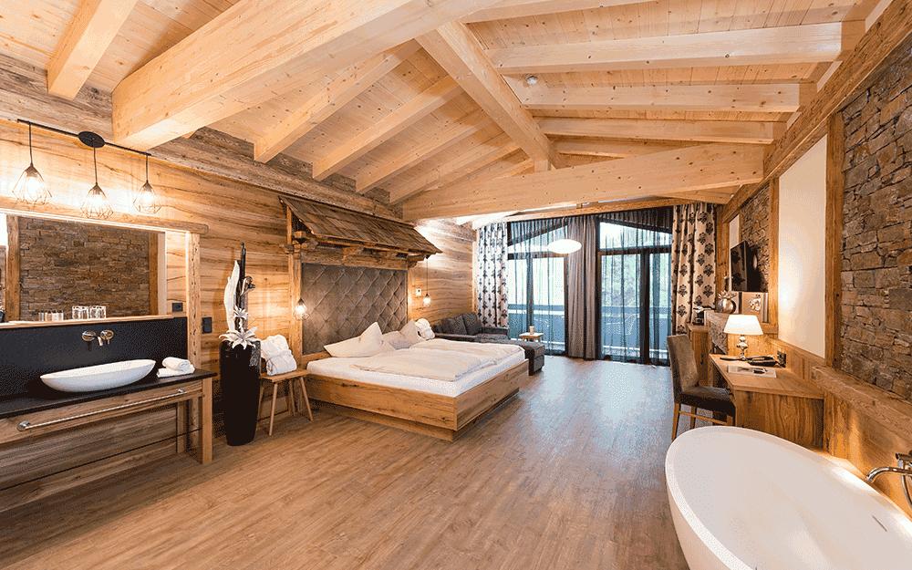 Eines der vielen gemütlichen Zimmer des Alpenhotel ... fall in Love © Alpenhotel ... fall in Love